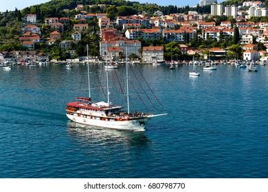 Dubrovnik harbor. Croatia.