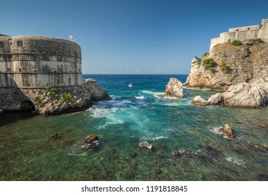 Dubrovnik historical city in Croatia