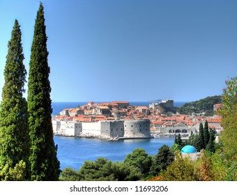 Dubrovnik is one of the most beautiful cities on the Croatian coast. Many buildings in the old city center testify of this glorious past and to its venetian influence.