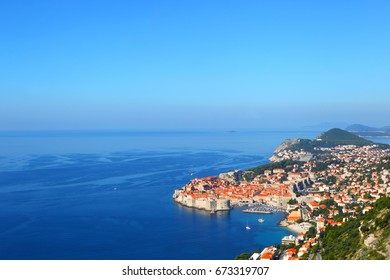 Dubrovnik.Croatia.Top view.