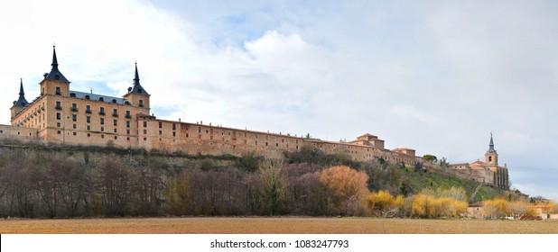 Ducal palace at Lerma, by Francisco de Mora in Lerma, Castile and Leon. Spain