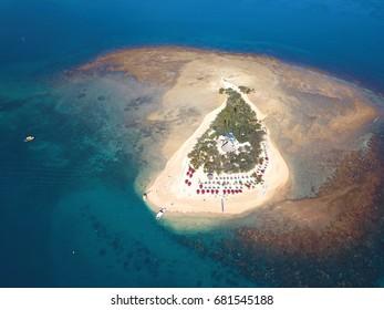 Duck Island in noumea, french island (new caledonia)