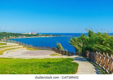 The Duden park in Lara district of Antalya situated on the coast and is the perfect place to relax, Turkey.