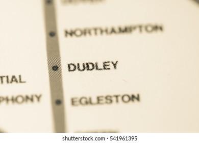 Dudley Station. Boston Metro map.