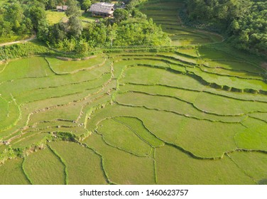 Due to the highland and mountainous areas, rare land for cultivation, especially wet rice cultivation. People overcome by selecting the hillsides, mountains and leveling into multiple levels (stairs).