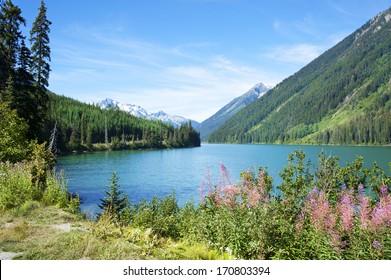 Duffey Lake in Duffey Lake Provincial Park, BC, Canada