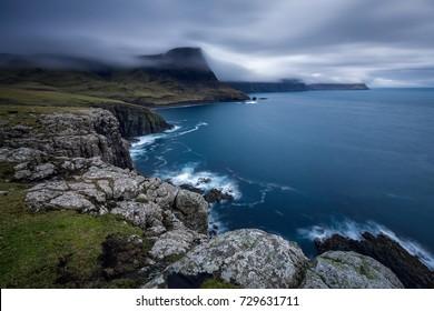 Duirinish peninsula, Glendale, Neist Point , Isle of Skye, Scotland, UK