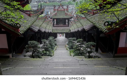 Dujiangyan, chenghuang temple, built in 1782, is located in dujiangyan city, chengdu city, sichuan province, China