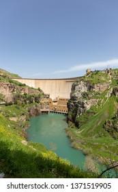 Dukan Dam in Sulaymaniyah, Iraq