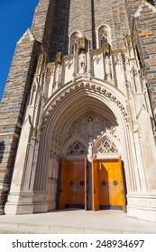 Duke Chapel entrance