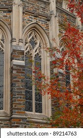 Duke University Chapel Window Detail, Durham, North Carolina.