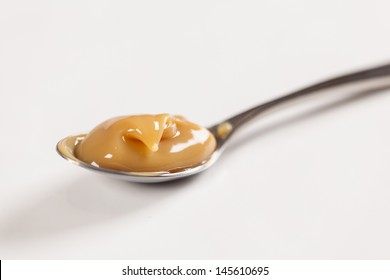 Dulce de leche,(Doce de leite) a sweet made �¢??�¢??from milk, made in Brazil and Argentina.