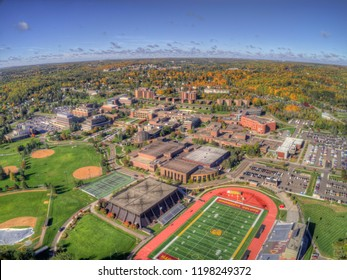 Duluth, Minnesota, USA 10-7-18 University of Minnesota in the City of Duluth during October