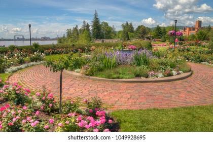 Duluth's Flower Garden in Summer