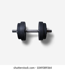 dumbbells.Weights with white background.dumbbell exercise weights
