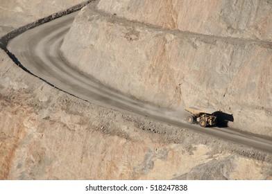 Dump Truck in Pit - Kalgoorlie - Australia