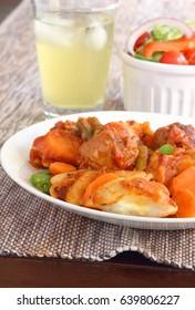 Dumpling casserole