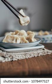 Dumplings still life photo