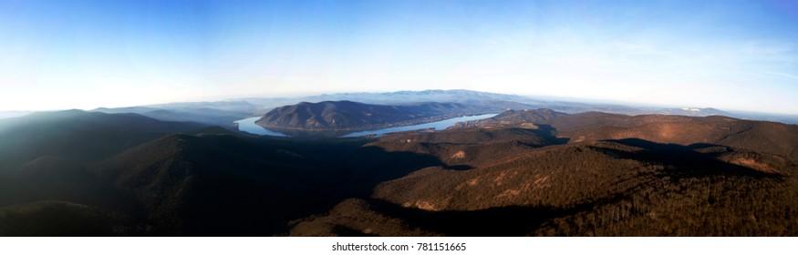 Dunakanyar, Visegrád panoráma télen