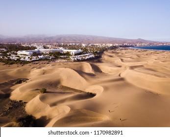Dunas de Maspalomas, Gran Canaria, Desert Sand