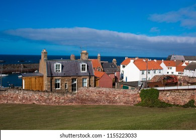 dunbar is a coastal town in East Lothian on the south-east coast of scotland united kingdom europe