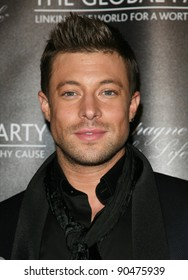 Duncan James from Blue arriving for The Global Launch Party, at the Natural History Museum, London. 08/09/2011 Picture By: Alexandra Glen / Featureflash