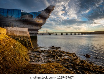 Dundee,Tayside,Scotland - Sept 25th 2018: V&A Dundee Museum