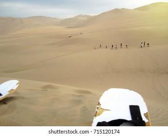 Dune buggies and sandboarding in Peru