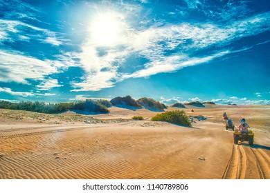 Dune Buggy Landscape