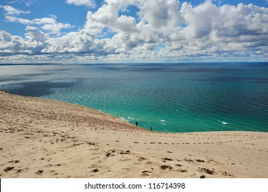 Dune climb, sleeping Bear Dunes National Lakeshore , Michigan USA