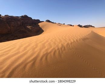 dune , landscape desert in western sahara