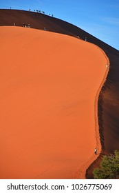 Dune in the Namib Desert