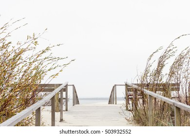 dune Parnidis of Lithuania, a viewing platform, stairs, Curonian spit