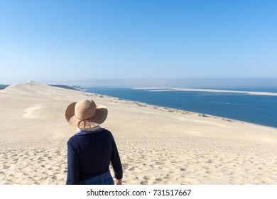 The dune of Pilat (or Pyla), Arcachon Bay, France
