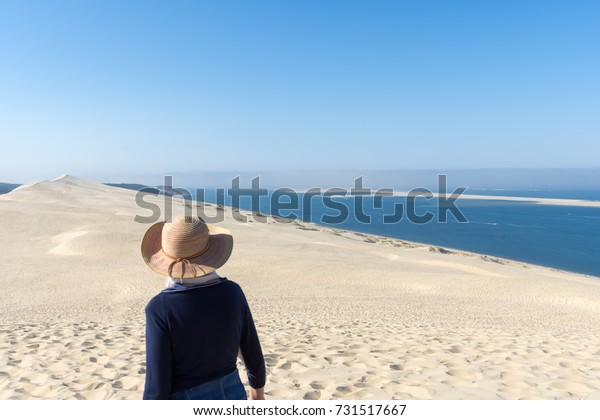 Dune Pilat Pyla Arcachon Bay France Stock Photo Edit Now 731517667