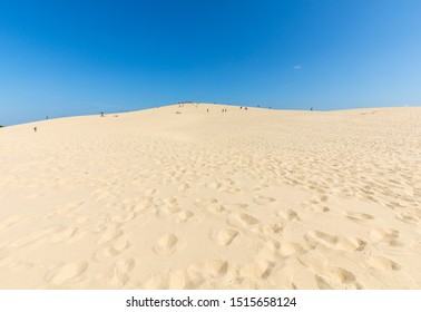 The Dune of Pilat, the tallest sand dune in Europe. La Teste-de-Buch, Arcachon Bay, Aquitaine, France