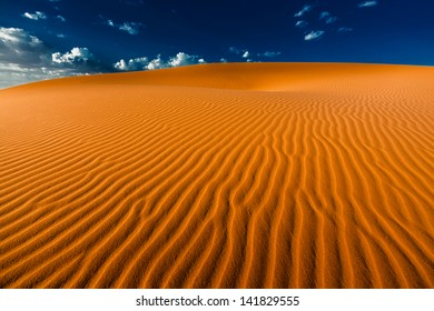 Dune in the Sahara desert