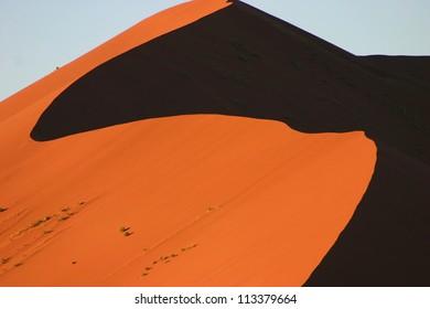 Dune shapes, Sossusvlei, Namibia
