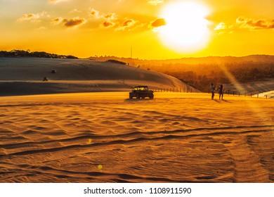 Dune Sunset - Natal - Rio Grande do Norte . Brazil