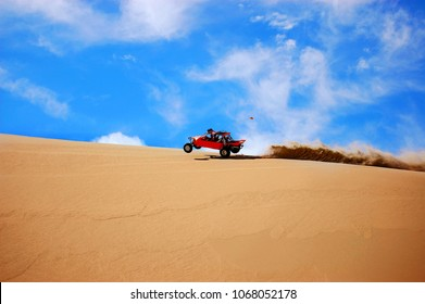 Dunebuggy On Sand Dune