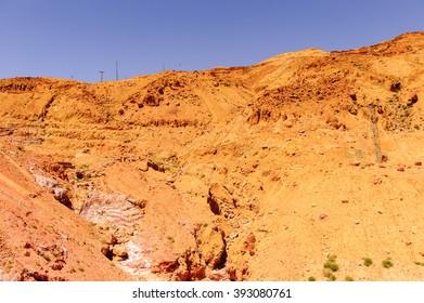 Dunes in the desert, Jordan