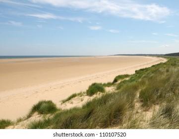 Dunes at Holkham sands, North Norfolk