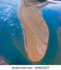 Dunes of Liencres Natural Park, Pas River Estuary, Liencres village, Pielagos Municipality, Cantabrian Sea, Cantabria Autonomous Community, Spain, Europe
