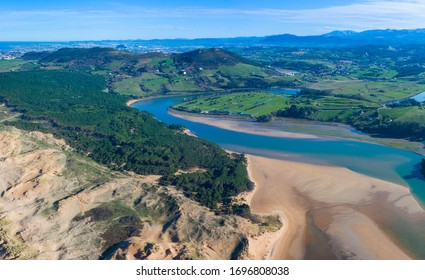 Dunes of Liencres Natural Park, Liencres village, Pielagos Municipality, Cantabrian Sea, Cantabria Autonomous Community, Spain, Europe