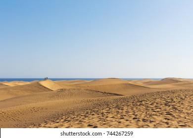 Dunes at Maspalomas, Gran Canaria, Spain