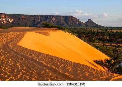 Dunes in Jalapão State Park ( Parque Estadual do jalapao ) - Tocantins, Brazil