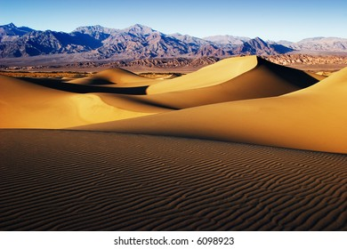 Dunes at Stove Pipe Wells