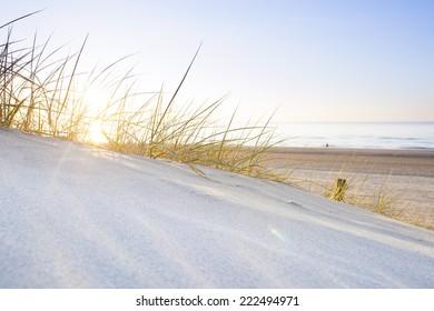 dunes in sunlight