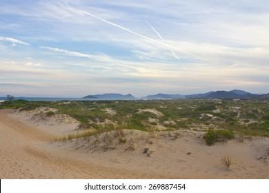 Dunes at Sunset - Joaquina beach - Florianópolis - Santa Catarina - Brazil