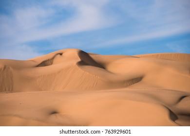 Dunes in Yuma Arizona